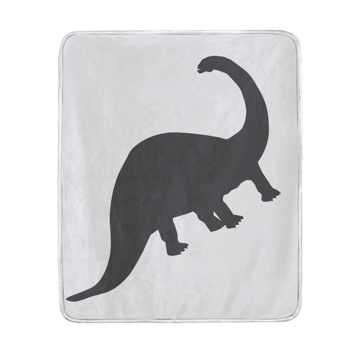 875b8ea5b763 Amazon.com: Lilibeely Ultra Soft Microplush Velvet Dinosaur Pattern ...