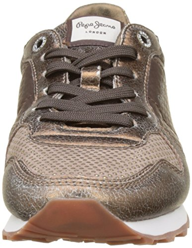 Brown Remake Trainers Pepe Verona 898 Dk Jeans Brown Women's Brown Owf8g
