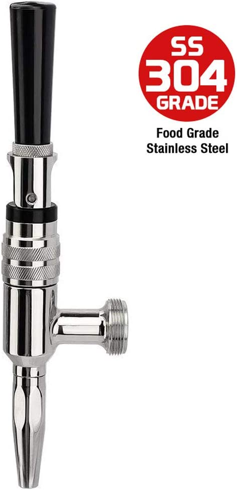 Stout Beer and Coffee Faucet 304 Grade Stainless Steel - Nitrogen Draught Faucet by MRbrew
