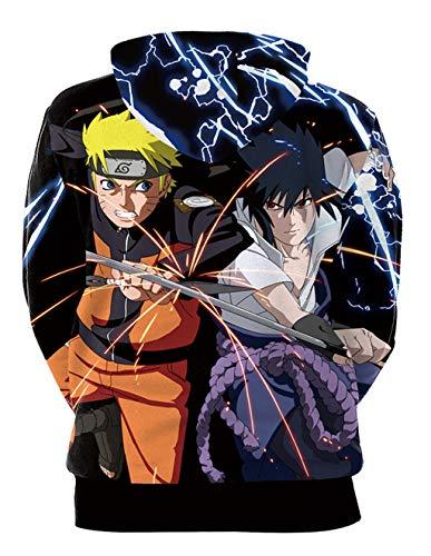 Leggere Maglione Naruto 3d Tasche Sportive B101 185 E Giacca Magliette Stampa Maniche Siennaa Hd Lunghe Cappuccio Felpe Cappotto Con Unisex Uomo Pullover exCBod
