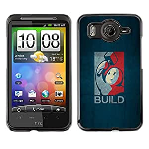 LECELL--Funda protectora / Cubierta / Piel For HTC G10 -- Construir Gaming --