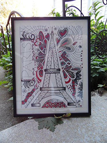 Paris Eiffel Tower drawing by LoVe OuT LoUd DeSiGnS By Wendy