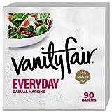 Vanity Fair Everyday Napkins, 1080 Count, White