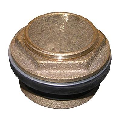 LASCO 04-1916 Closet or Urinal Spud, 1 1/2-Inch x 1 1/2-Inch, Brass