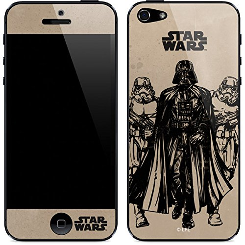 Star Wars - Darth Vader & Storm Troopers - Skin for iPhone 5/5s