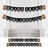 Big Dot of Happiness Bride Tribe - Bachelorette Party or Bridal Shower Bunting Banner - Bachelorette Party Decorations - Bride Tribe #Squadgoals