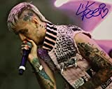 #3: Lil Peep emo rapper reprint signed autographed 8x10 photo #1