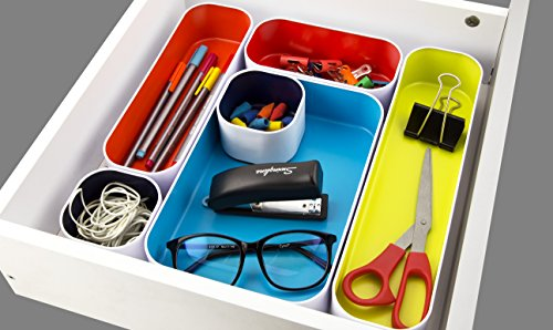 Easily organize messy drawers