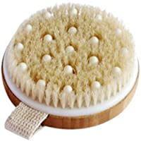 C.S.M. Body Brush for Wet or Dry Brushing - Gentle Exfoliating for Softer, Glowing...