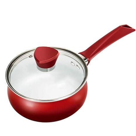 Woks Ollas para Pasta Olla de Sopa Olla de Leche Caliente del hogar Olla de Fideos
