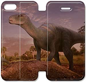 Dinosaur Character Aladar-9 iPhone 5C Leather Flip Case Protective Cover New Colorful