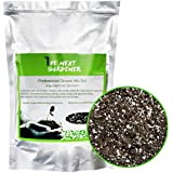 Professional Grower Mix Soil Fast Draining Pre-Mixed Coarse Blend (2 Quarts)