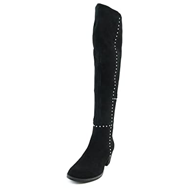 03f27f19103 Design Lab Lord   Taylor Odel Women US 9 Black Knee High Boot ...