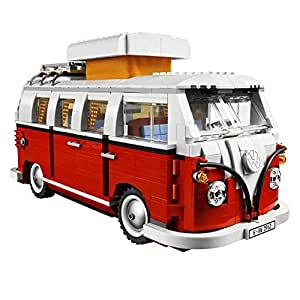 LEGO Juegos de construcción, tema Volkswagen T1 Camper Van (L-10220)