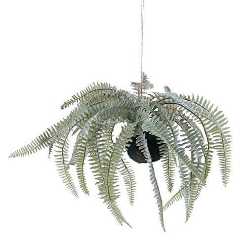 人工観葉植物 ボストンファーンハンキングボール30(6個セット) bb180 吊るしタイプ (代引き不可) インテリアグリーン 造花 HANGING B07T12XNNC