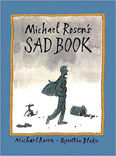 Image result for the sad book michael rosen cover