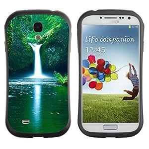 Pulsar iFace Series Tpu silicona Carcasa Funda Case para SAMSUNG Galaxy S4 IV / i9500 / i9515 / i9505G / SGH-i337 , Waterfall Fresh Spring