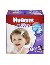 Huggies Little Movers Diapers - Size 5 - 50 ct BOBEBE Online Baby Store From New York to Miami and Los Angeles