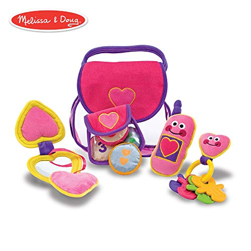 - Melissa & Doug Pretty Purse Fill and Spill Soft Play Set Toddler Toy
