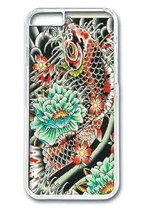 Carp 23 Custom iphone 6 plus 5.5 inch Case Cover Polycarbonate Transparent