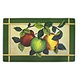 Achim Home Furnishings Beautiful Anti Fatigue Mat, 18'' x 30'', (Apple Orchard)