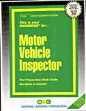 Motor Vehicle Inspector, Jack Rudman, 0837323843