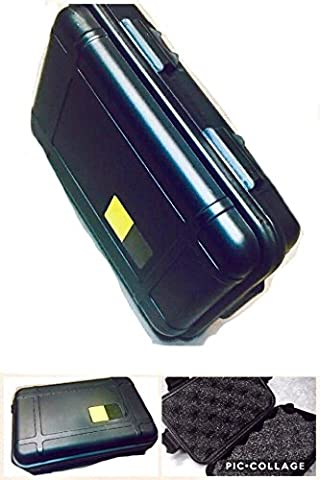 New Outdoor Shockproof Airtight Survival Storage Hardshell Case Container 6.5in x 4.5in x 2in Box (1 2 Inch Kids Pedals)