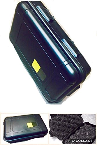 New Outdoor Shockproof Airtight Survival Storage Hardshell Case Container 6.5in x 4.5in x 2in Box - Sunglasses V Mac