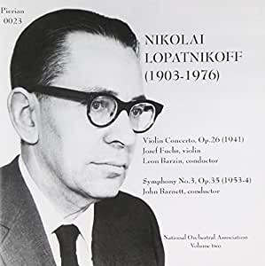Music of Nikolai Lopatnikoff