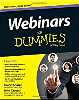 Webinars For Dummies Front Cover