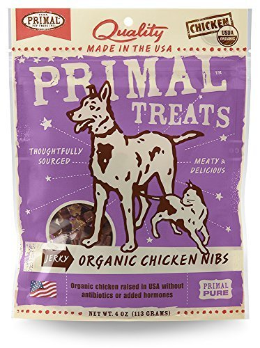Primal Organic Chicken Nibs by Primal Pet Foods