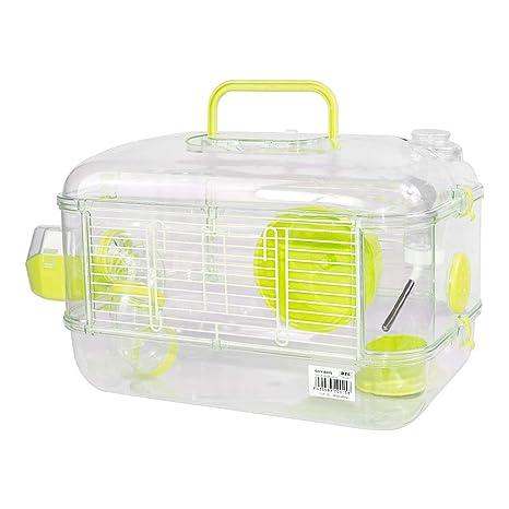 Jaulas para Hamster de plástico Duro, Jaula de Hamster S Jaula ...