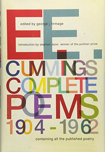 E. E. Cummings: Complete Poems 1904-1962 by Liveright Pub Corp