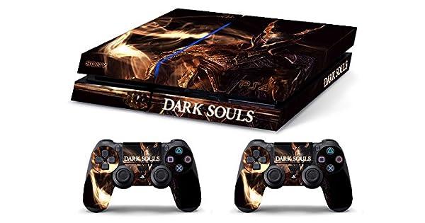 Skin PS4 HD DARK SOULS 2 b - limited edition DECAL COVER ADHESIVO playstation 4 SONY BUNDLE: Amazon.es: Videojuegos