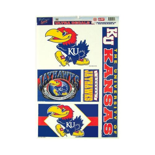 jayhawk window decal - 7