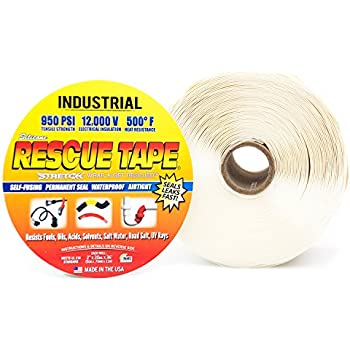 """Rescue Tape (White 2"""" Industrial)"""