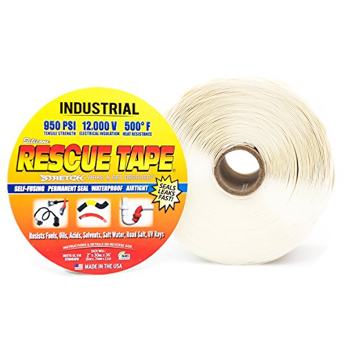 Rescue Tape (White 2' Industrial)