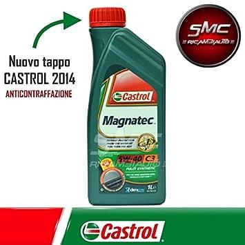 Aceite de motor original Castrol Magnatec C3 5W40 1 LITRO: Amazon.es: Coche y moto