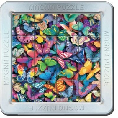 Cheatwell Games 3D Magna Butterflies Puzzle: Toys & Games