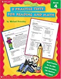 8 Practice Tests for Reading and Math, Michael Priestley, 0439338182