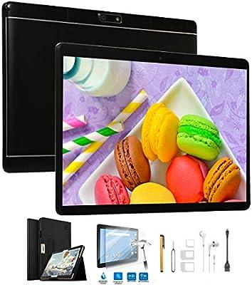 Tablets 10 Pulgadas 4G Dual SIM/WiFi 32GB ROM 2GB RAM (Netflix y ...