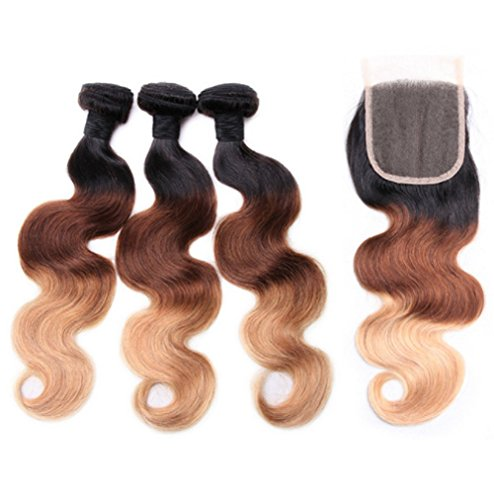 10-22inch-best-8A-Brazilian-Ombre-Human-Hair-with-Closure-1b422-Honey-Blonde-3-Bundles-100-Ombre-Brazilian-Body-Wave-Hair-with-Closure
