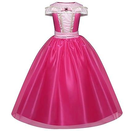 Disfraz de Bella para niñas, disfraces de princesa, para Halloween, para niñas de 4-9 años 6 Años