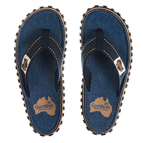 Gumbies Sandale Jeans Fonc Bleu Islander r5qPgr
