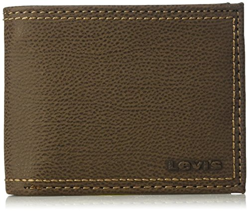 Levi's Men's Rfid Security Blocking Traveler Wallet