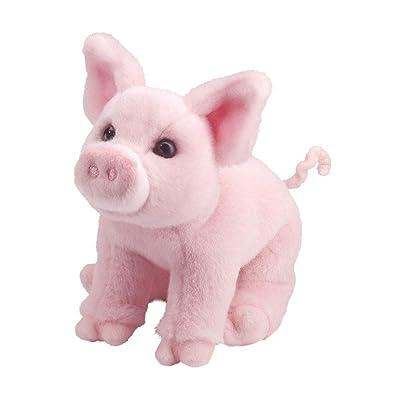 Douglas Betina Pink Pig Plush Stuffed Animal: Toys & Games