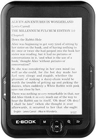 Lector de libros electrónicos portátil, lector de tinta ...