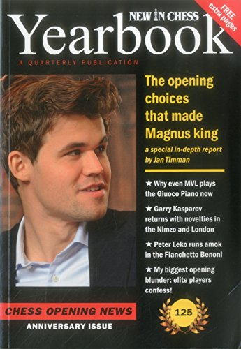 New In Chess Yearbook 125: Chess Opening News -