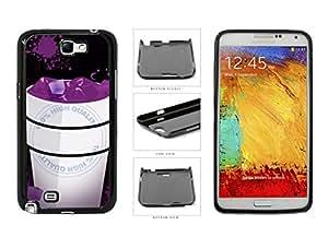 Lean in Styrofoam Cup - Plastic Phone Case Back Cover Samsung Galaxy Note II 2 N7100