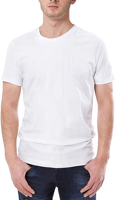 Cocoty-Store 2019 Camisas Lino Tradicionales para Hombres Manga Corta con Cuello Casual Blusa Suelta Camisetas Sueltas Cool Juego Top Adolescent Deportivas Sudadera del Collar Blusas: Amazon.es: Ropa y accesorios